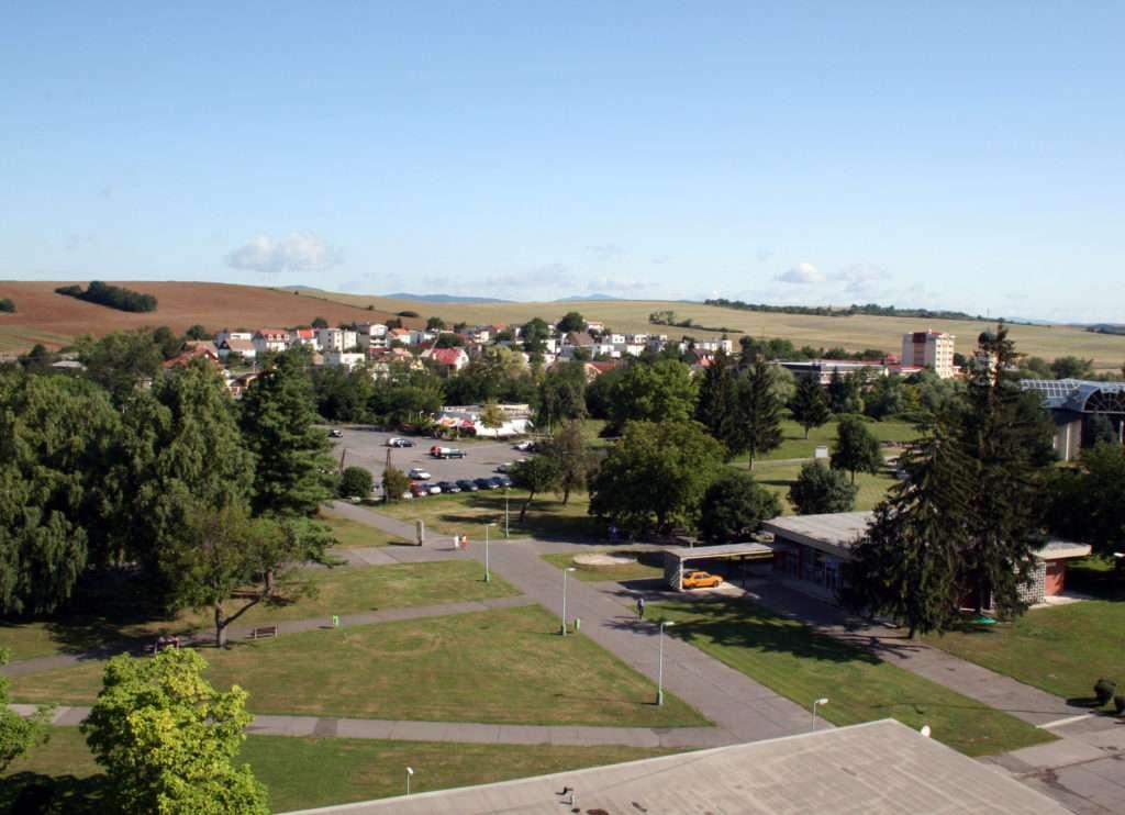 Historická časť mesta Dudince