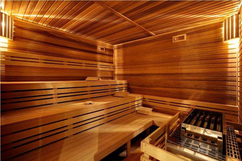 Sauna Hotel mineral