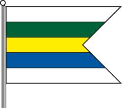 Vlajka města Dudince